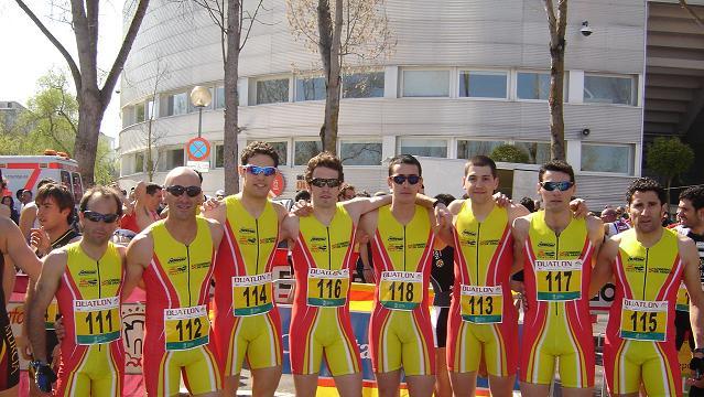 Camp. España Duatlon por autonomias(Vitoria) y II Trofeo Triton de Duatlon